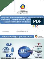 Presentacion de Programa Pec a Tecnicos Electricistas