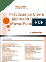 Prácticas Cierre Power Point 2010