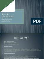 Informe Orientación