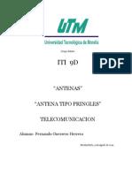 TELECOMUNICACION ANTENAS