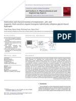 Fabrication and Characterization of Temperature-, PH- And
