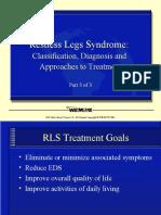 Restless Legs Syndrome: