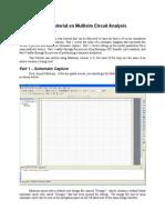 Tutorial on Multisim Circuit Analysis