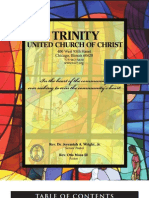 Trinity United Church of Christ Bulletin Mar 18 2007