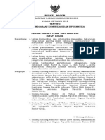Perda Penyelenggaraan Komunikasi Dan Informatika No 12 Tahun 2012(1)