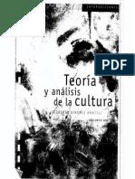Teoría y Analisis de La Cultura 1 Gilberto Gimenez