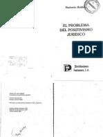 Bobbio - El Problema Del Positivismo Juridico