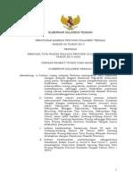 Peraturan Daerah Provinsi Sulawesi Tengah Nomor 08 Tahun 2013 tentang Rencana Tata Ruang Wilayah Provinsi Sulawesi Tengah Tahun 2013 - 2033