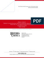 Reseña de La Marcha de Las Ideas - Historia de Los Intelectuales, Historia Intelectual
