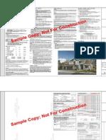 Sample Plan for design