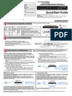 Fortinet FortiGate 50A QuickStart Guide