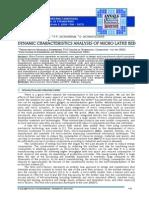 Micro Lathe Vibration Analysis