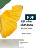 Effortless Abundance - 30DayCourse