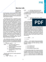 FBJ Calculation of Service Life