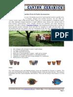 Garden Pots & Patio Acessories