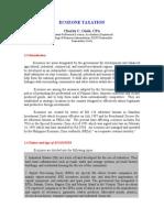 EcoZone Taxation