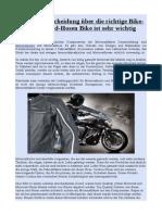 Warum Entscheidung Über Die Richtige Bike-Jacken Und-Hosen Bike Ist Sehr Wichtig