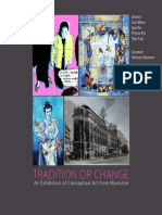 Tradition or Change - Conceptual Art from Myanmar