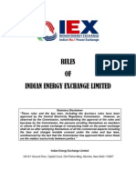 IEX Rules Dated 01.08.2011