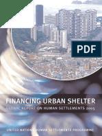 Global Report on Human Settlements 2005 - Financing Urban Shelter