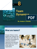 Team Dynamics Report
