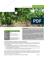Agriculture Case Study - Cocoa