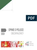 Obcokrajowcy o Polsce