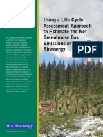 Using a LCA Approach to Estimate the Net GHG Emissions of Bioenergy