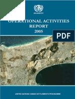 Operational Activities Report 2005