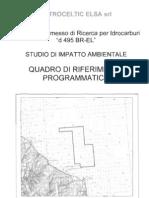Petroceltic via 495 Quadro Rif Programmatico
