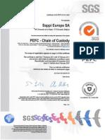 PPEFC Certificate Chain of Custody - Valid Until 15-2-2017