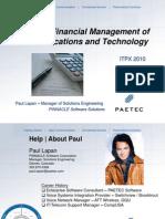 PaeTec Presentation