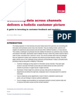 Ovum WP Connecting Customer Data Across Channels