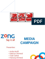 Zong Media Campaign Design