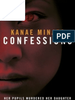 CONFESSIONS (extract) by Kanae Minato