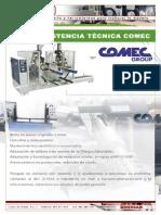 Asistencia tecnica Comec Group y recambios, piezas de repuesto