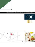 Brochure for Travel Agencies and Tour Operators - Press Club Hanoi