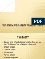 The Seven Old Quality Control Tools