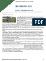 Entre El Reto Profesional y El Destierro Laboral - Local - El Adelantado