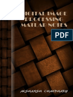 Digital Image Processing MATLAB Notes