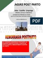 Hemorragias Post Parto