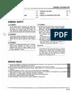 Honda NSR 125 Service Manual