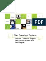 ERD UserGuide SubReport