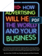 How Advertising Will Heal the World and Your Business - M.woerde - Version 1.1