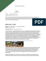 Daftar Cafe di Jogja