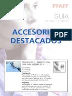 Accesorios Pfaff