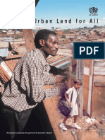 Urban Land for All