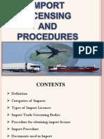 Import Licensing