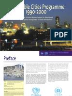 Sustainable Cities Programme 1990 - 2000