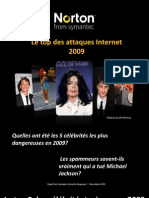 Top Cyber Menaces 2009